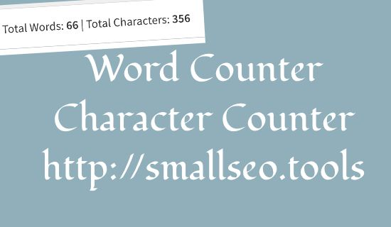 Word Counter | Character Count Calculator