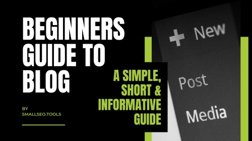"The Beginners Guide To ""Blog SEO"""