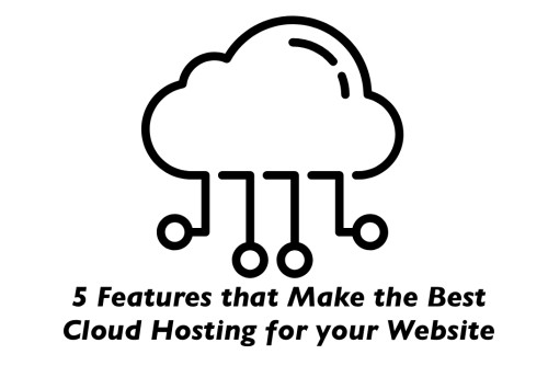 5 Features that Make the Best Cloud Hosting for your Website